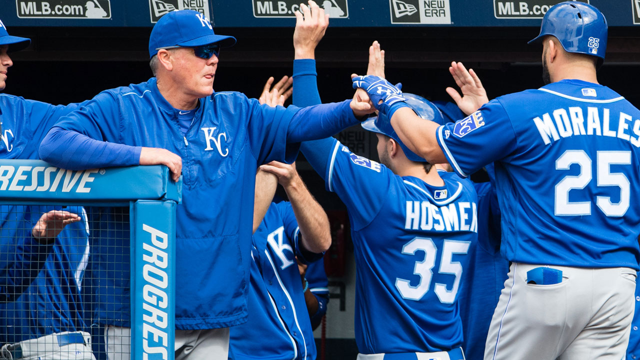 Yost tells Royals to keep grinding in 'discussion'