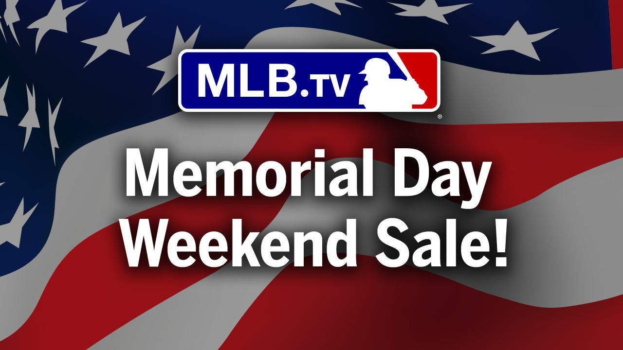 save 50 percent on mlb tv this weekend mlb com