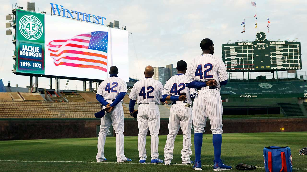 Tampa Bay Rays      Breaking Barriers to celebrate Jackie Robinson