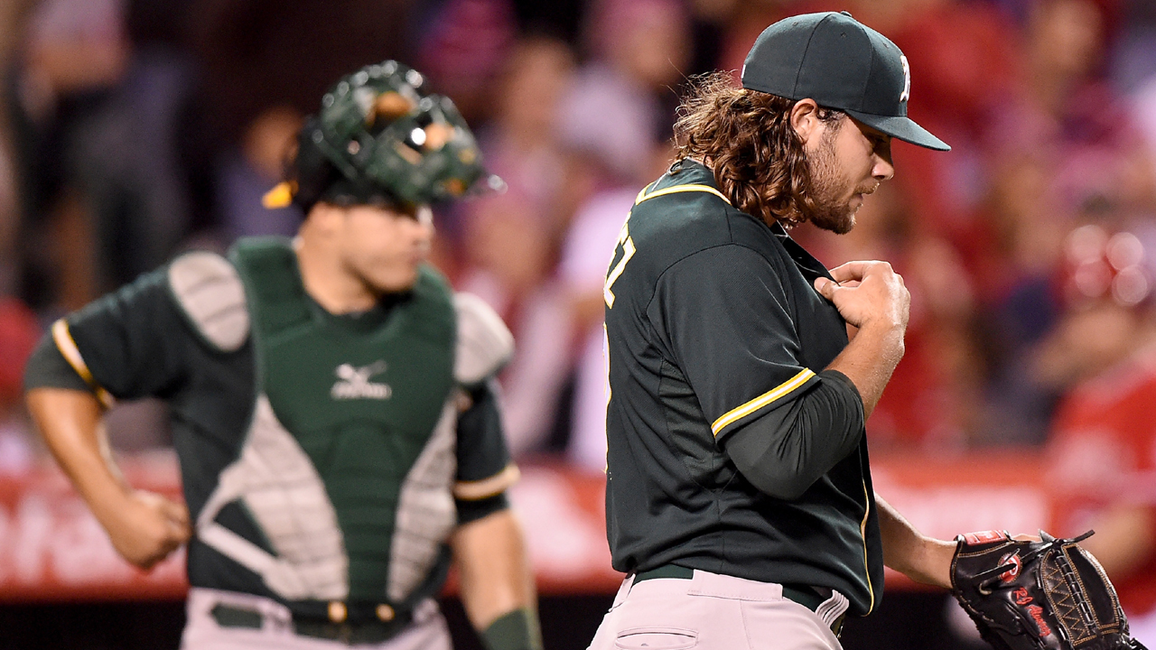 A's might need to call up a fresh arm to bolster bullpen
