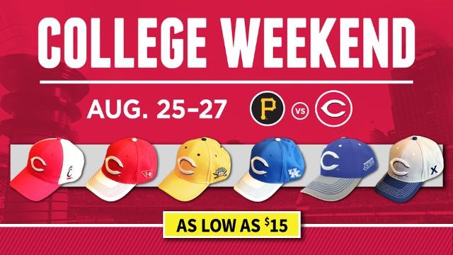 Reds College Weekend | MLB com