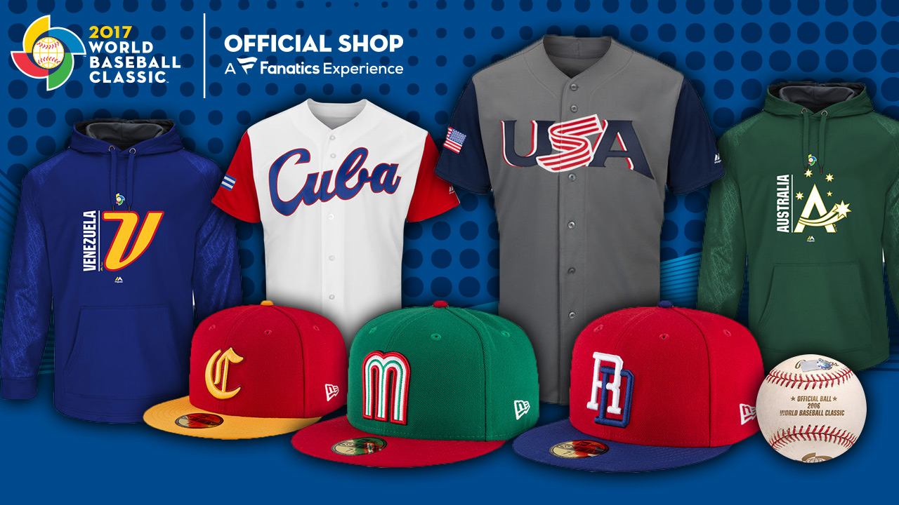 History shopper: World Baseball Classic gear is here
