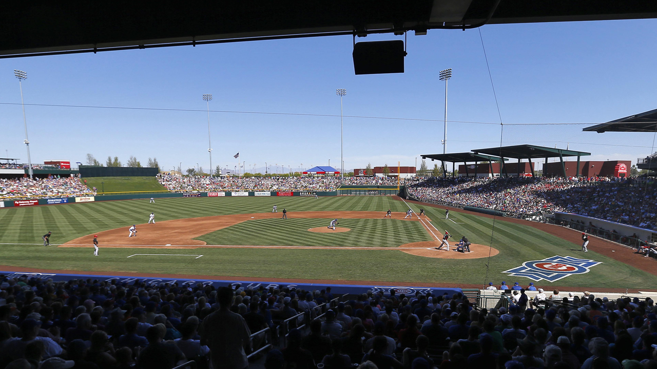 Cubs unveil finalized Spring Training schedule