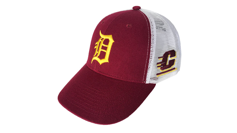 western michigan university baseball cap attention central students alumni family fans see tigers play blue jays show of eastern basebal