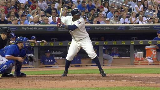 Miguel Sano hits homer into 3rd deck