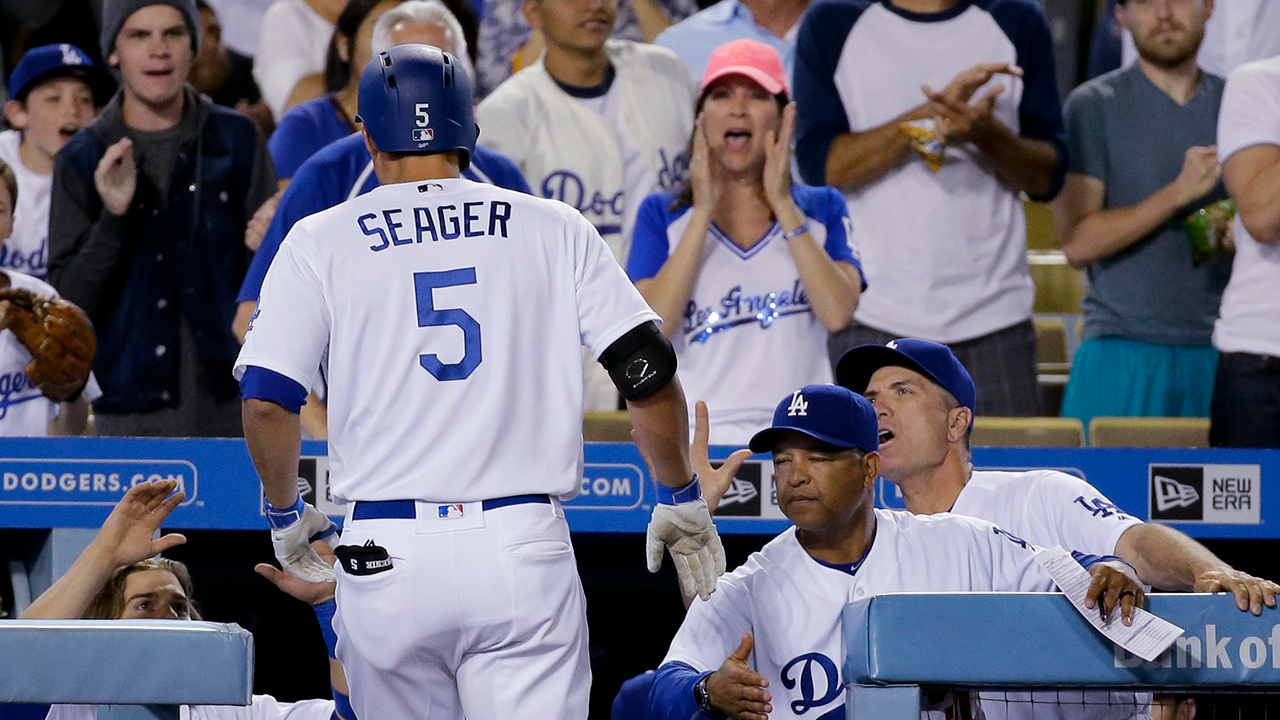 Dodgers' Corey Seager hits first HR off Lopez   MLB.com