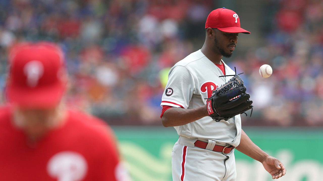 Short starts stretching Phillies relievers thin