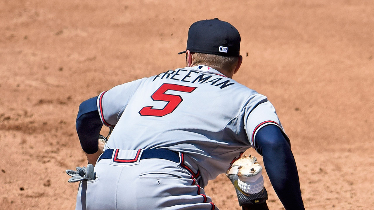 Returning from DL, Freeman maintains optimism