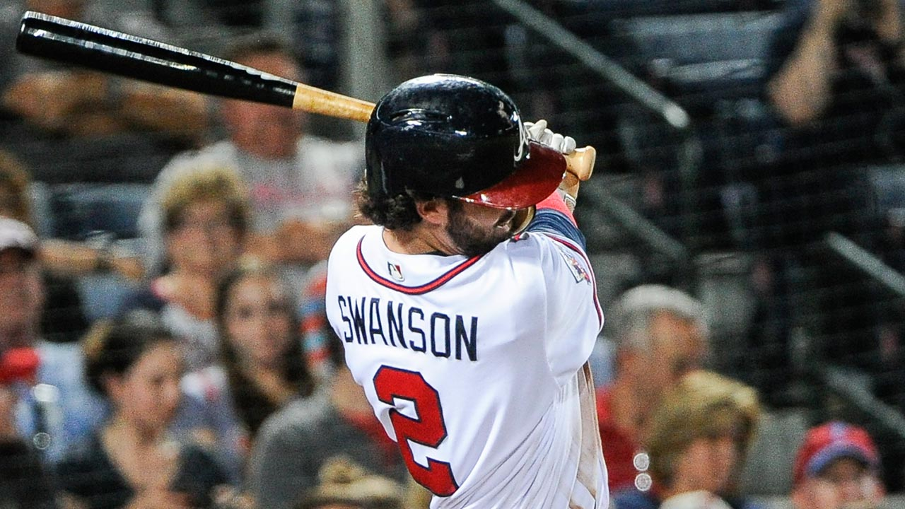 Dansby Swanson Switches To No 7 Jersey MLB