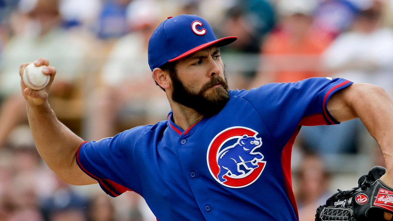 Arrieta closes out spring in Minor League game