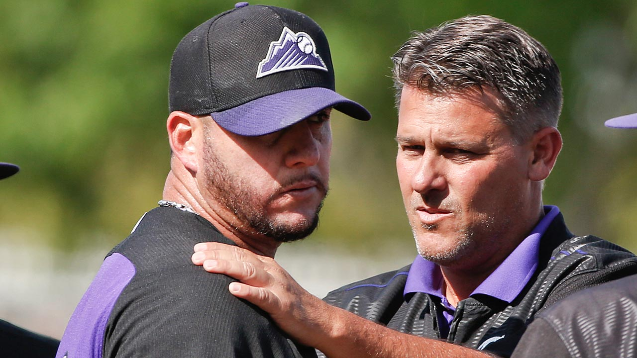 'Amazing' Betancourt battling for Rockies roster spot