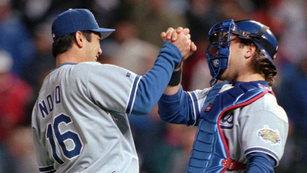 #TBT: Hideo Nomo throws no-hitter in 1996 | MLB.com