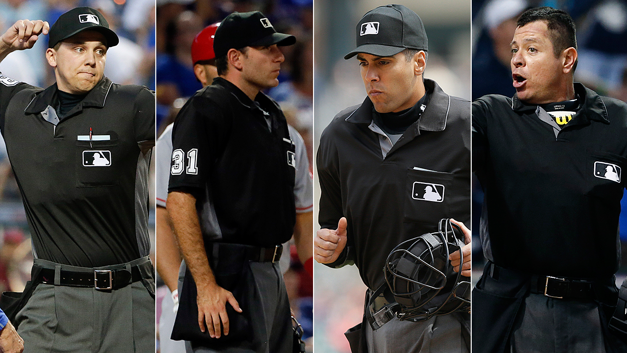 Major league baseball umpires resignation of