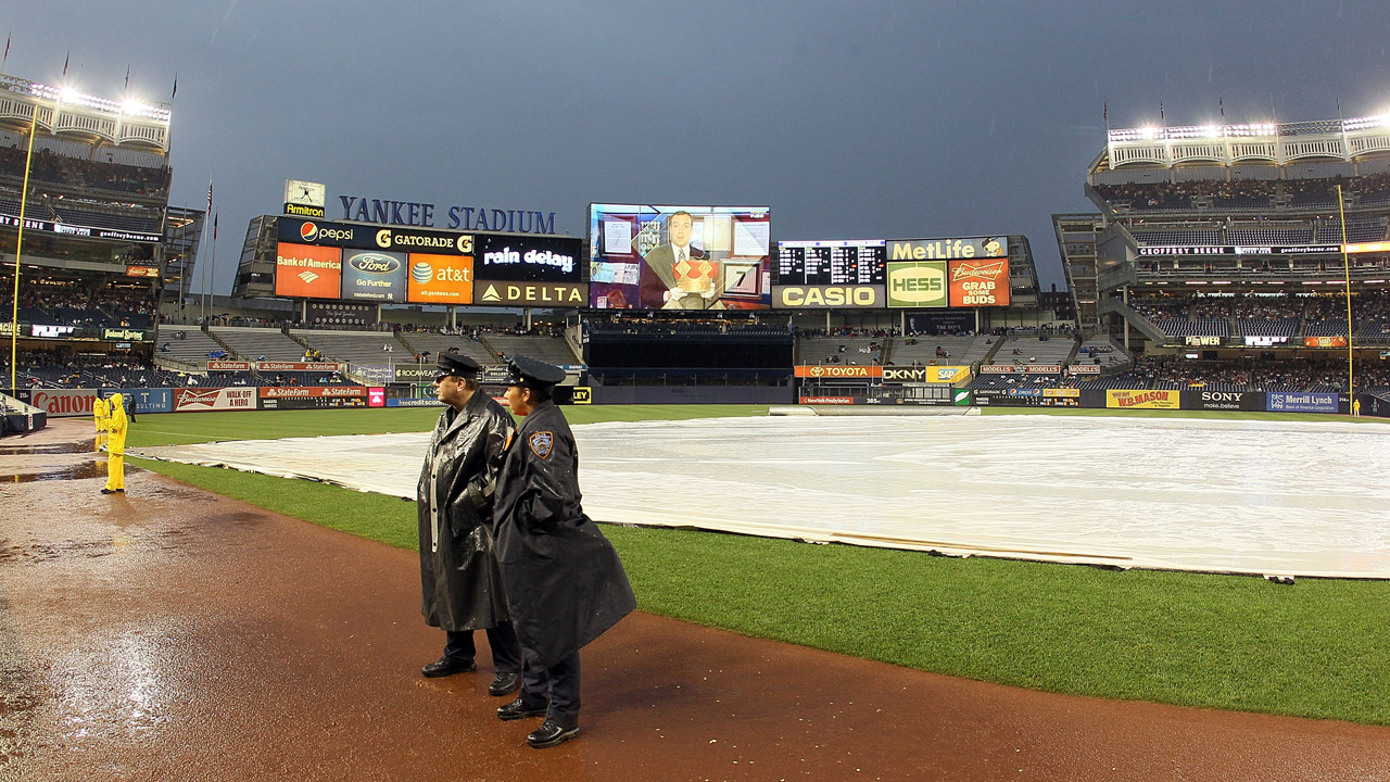 Astros Yankees game rescheduled for Sunday