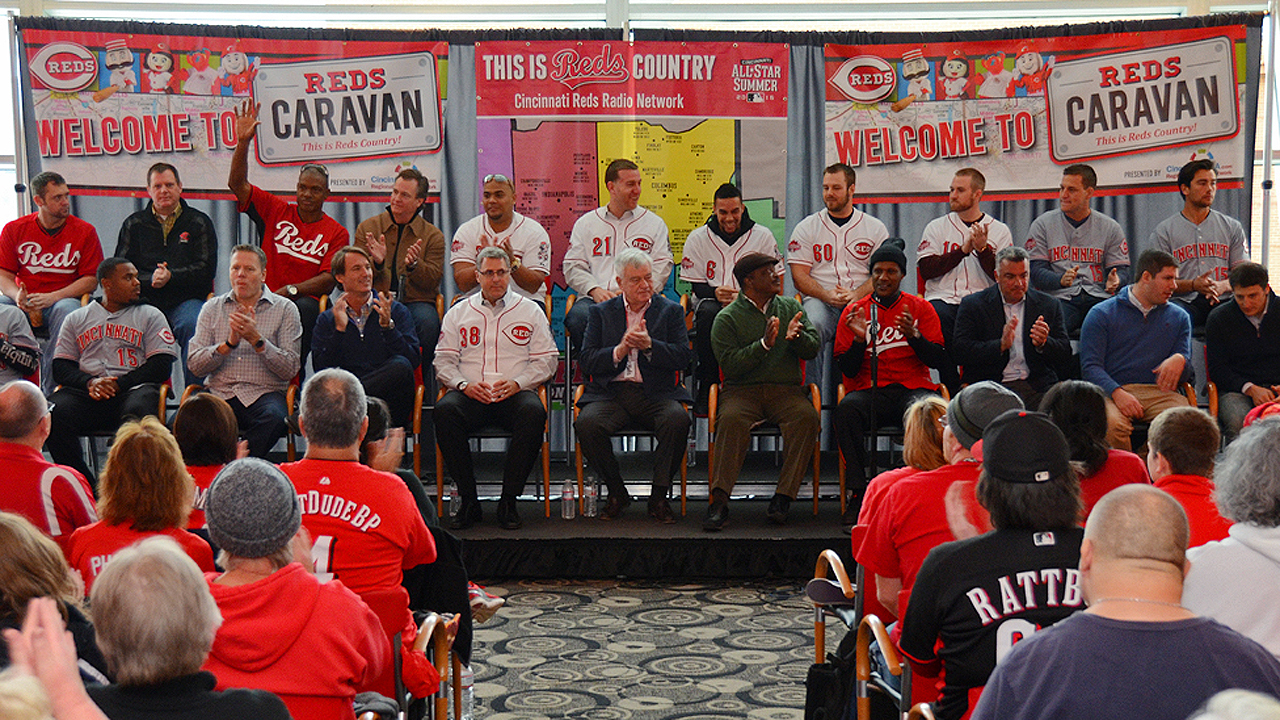 Reds unveil details for this year's Caravan