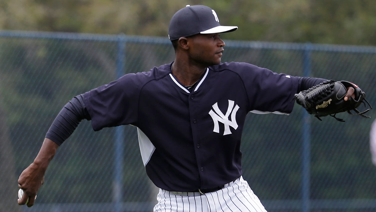 Yankees re-sign German on Minors deal