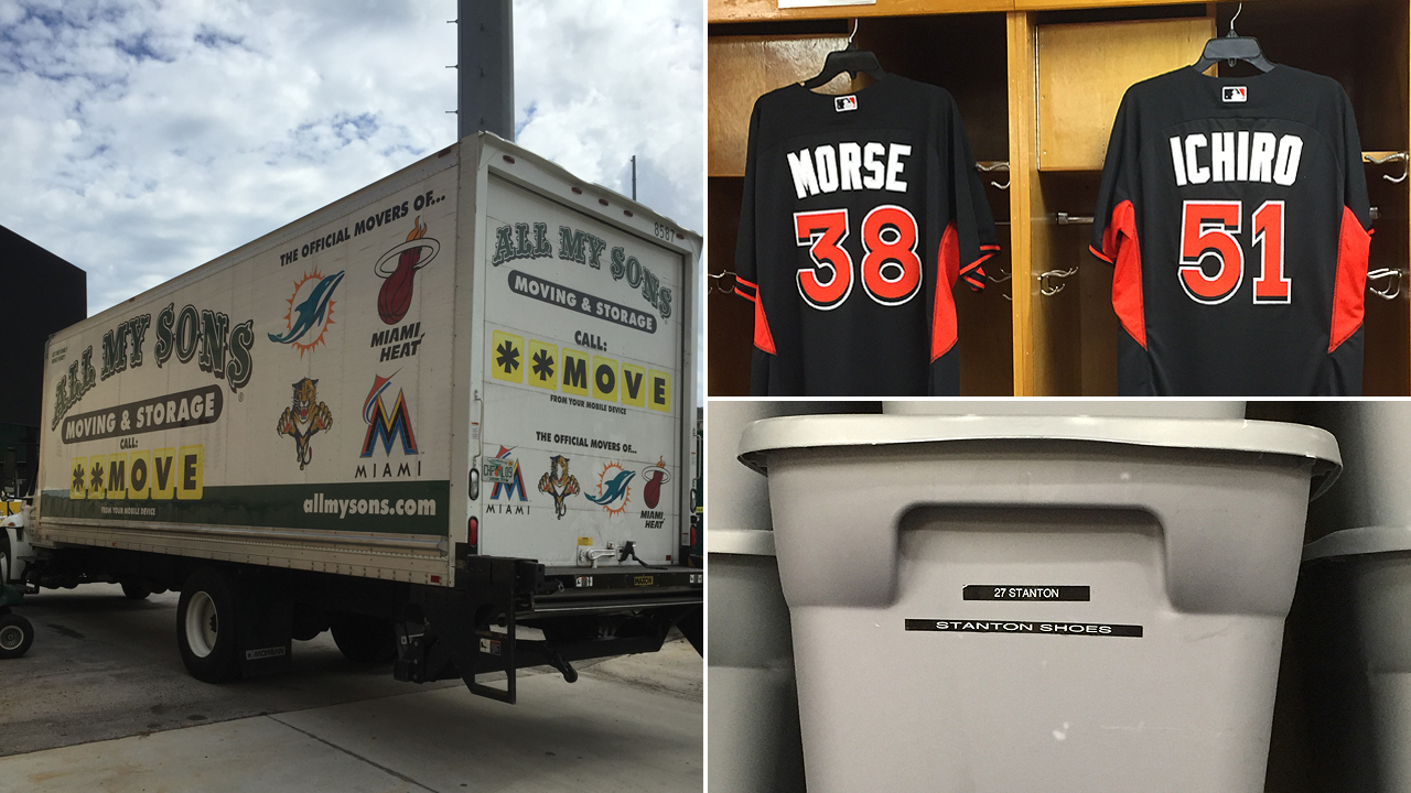 Marlins' Truck Day signals camp's imminent arrival
