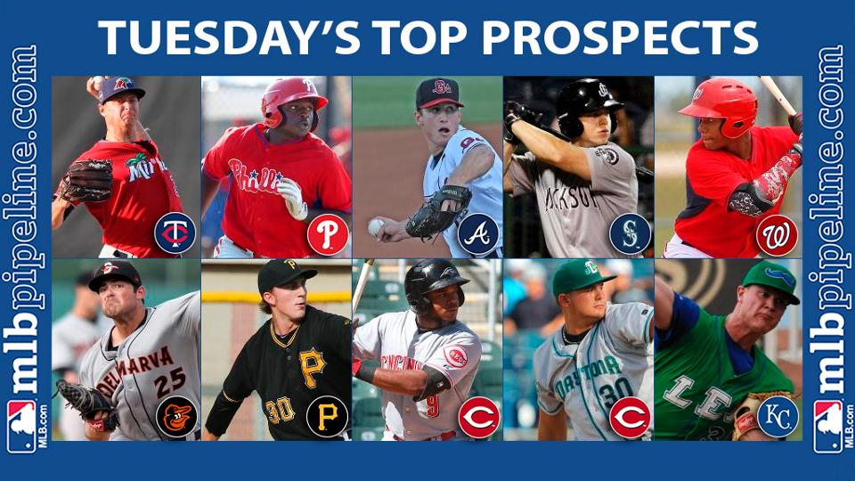 Gonsalves among top prospect performers Tuesday