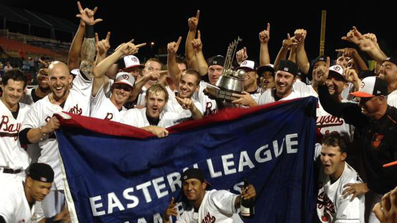 Double-A Bowie wins first Eastern League title