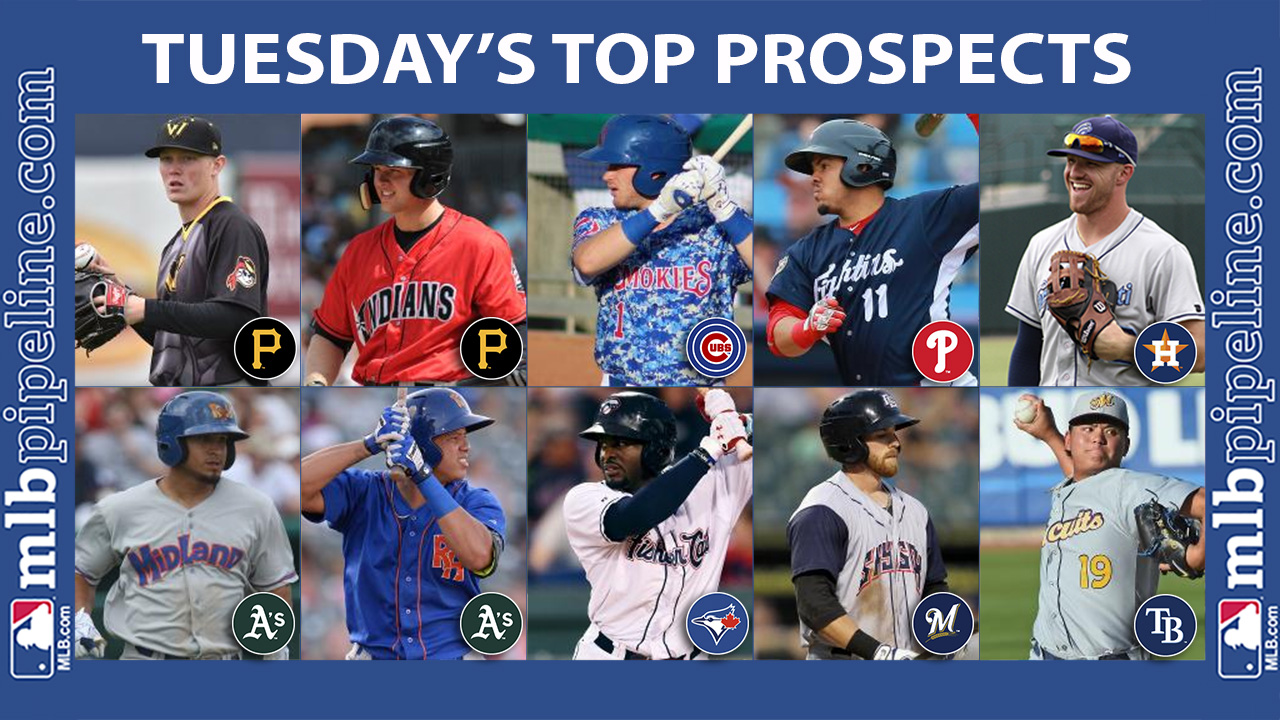 Keller, Meadows among top prospect performers Tuesday