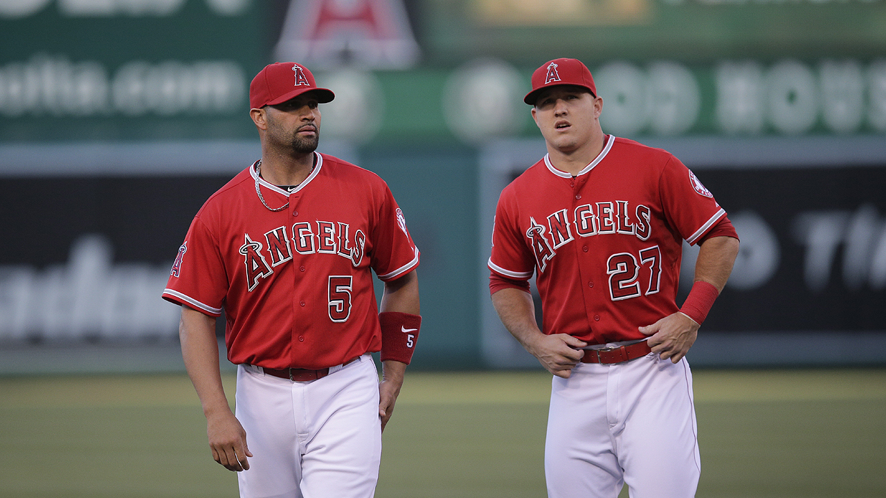 For Pujols and Trout, class is always in session