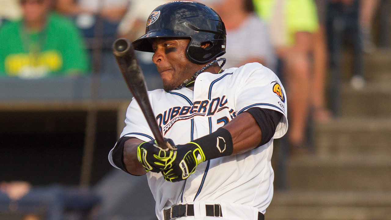 Myles hits for the cycle for Double-A Akron