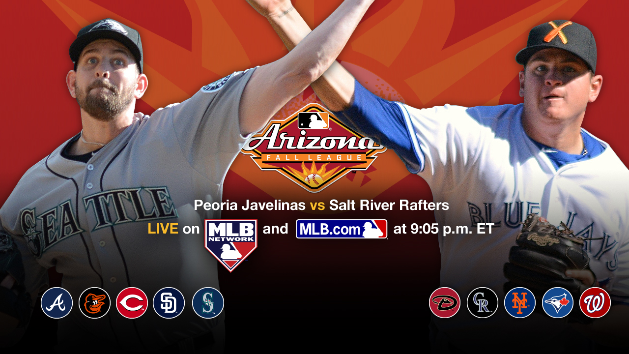 Fall League game live on MLB.com tonight