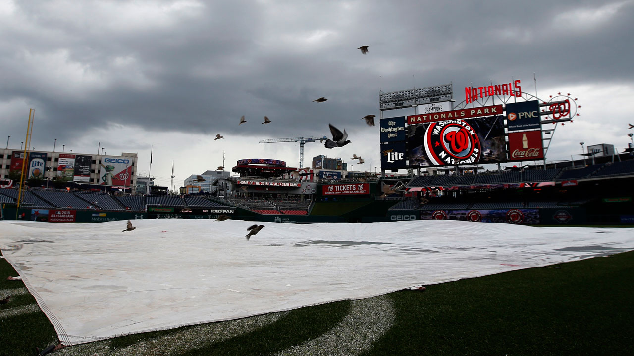 Series finale vs. Reds postponed by rain