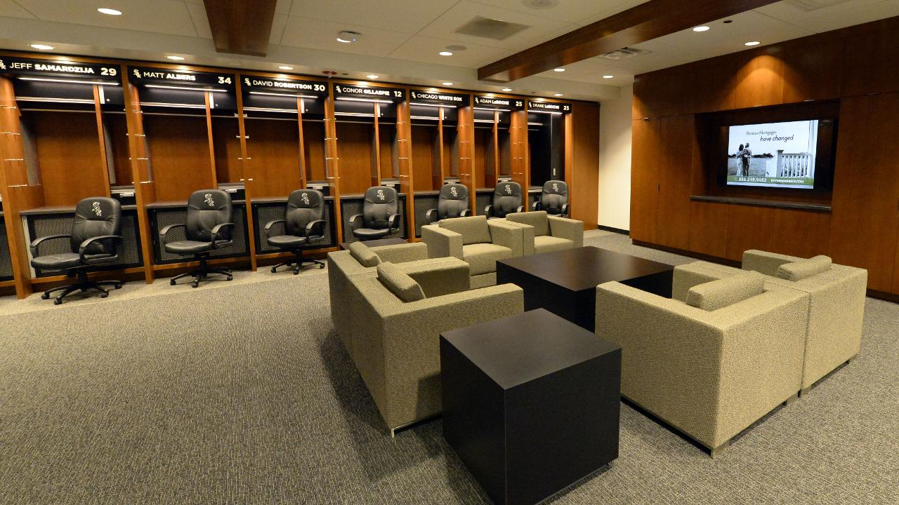 White Sox thrilled with clubhouse makeover