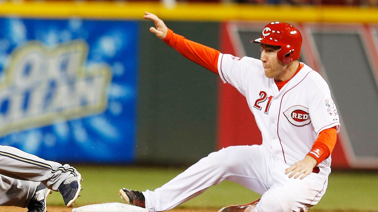 Reds' stealing prowess not limited to Hamilton