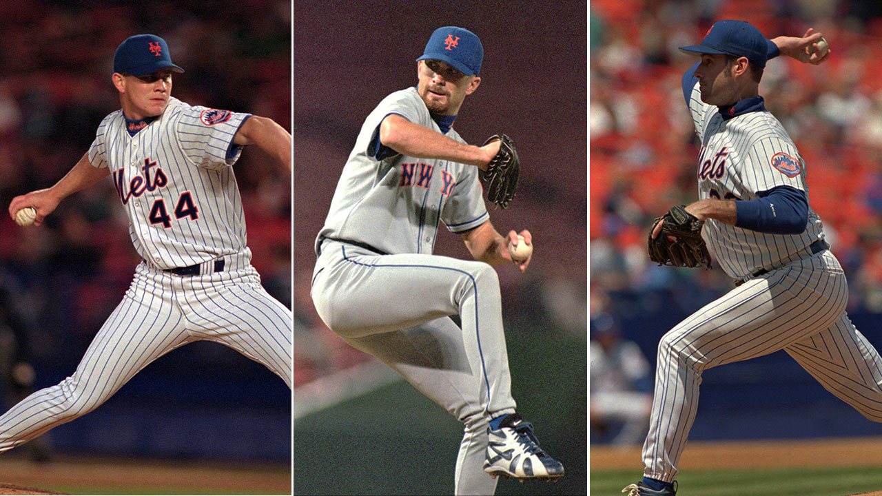'96 trio knows pressure facing Mets' current arms