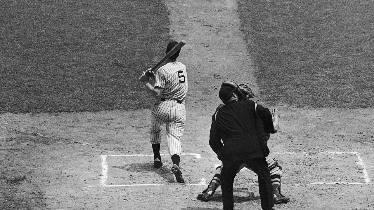 DiMaggio double can't dig Yanks out of trouble