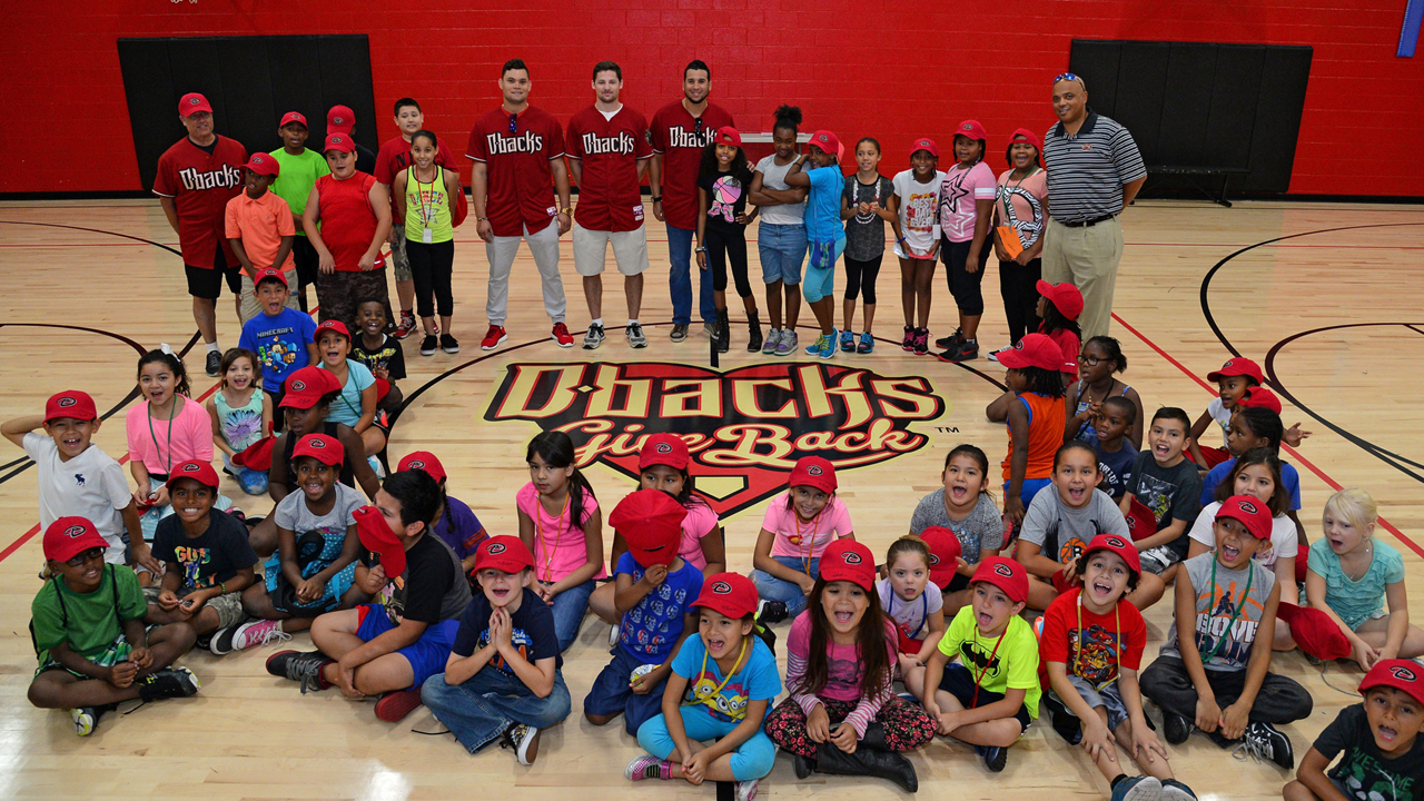 D-backs hit Grand Slam with community outreach