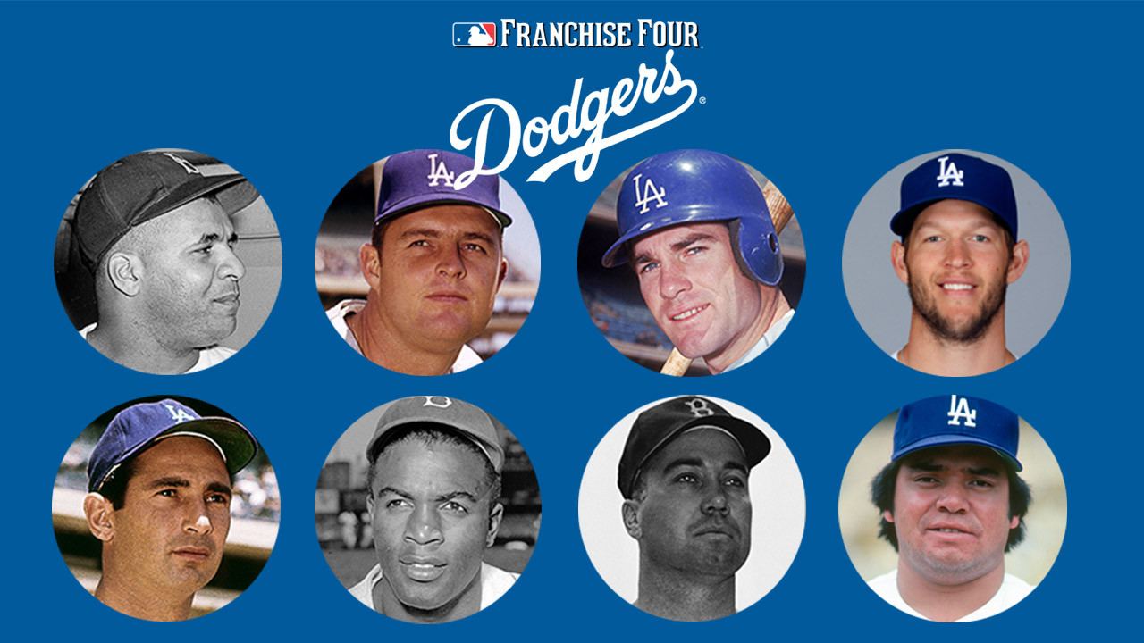 Hall of Famers lead Dodgers Franchise Four vote