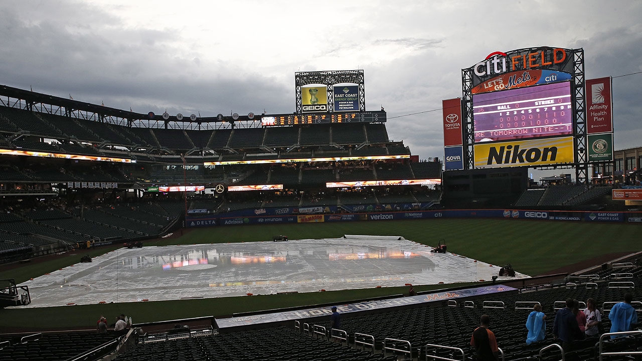 Mets-Cardinals rained out; twin bill today