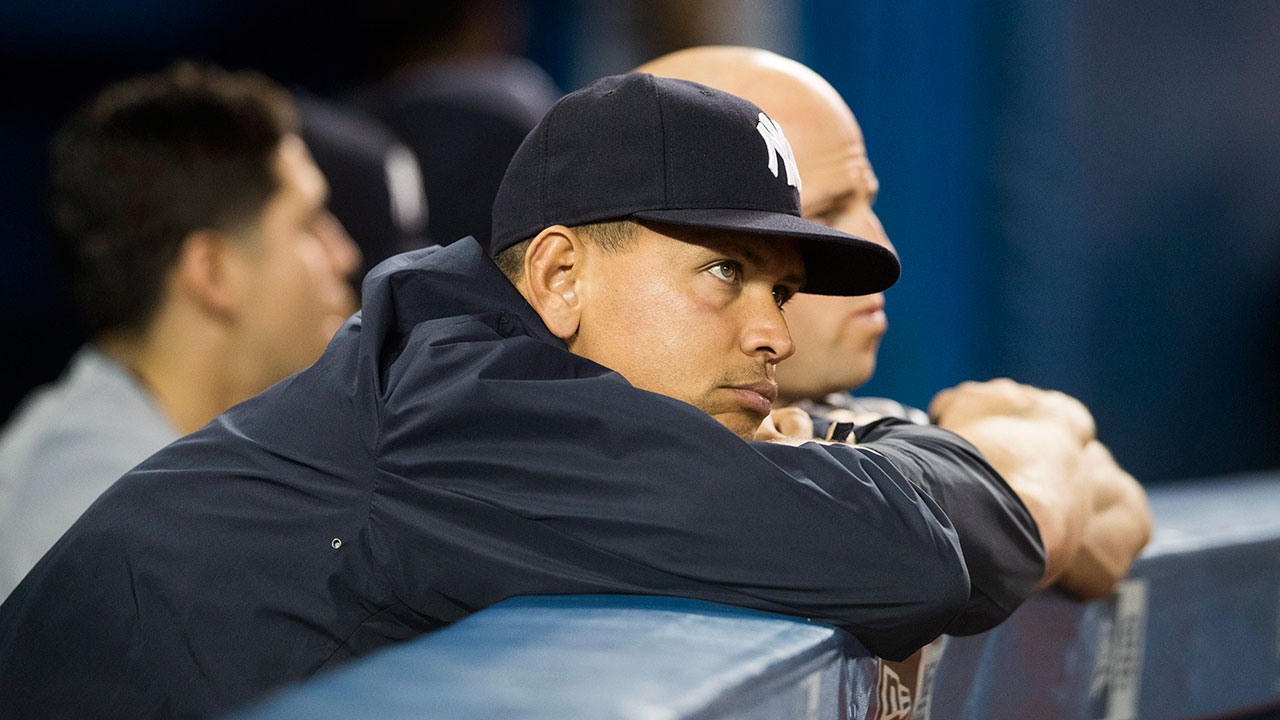Slumping A-Rod sits for 2nd straight game