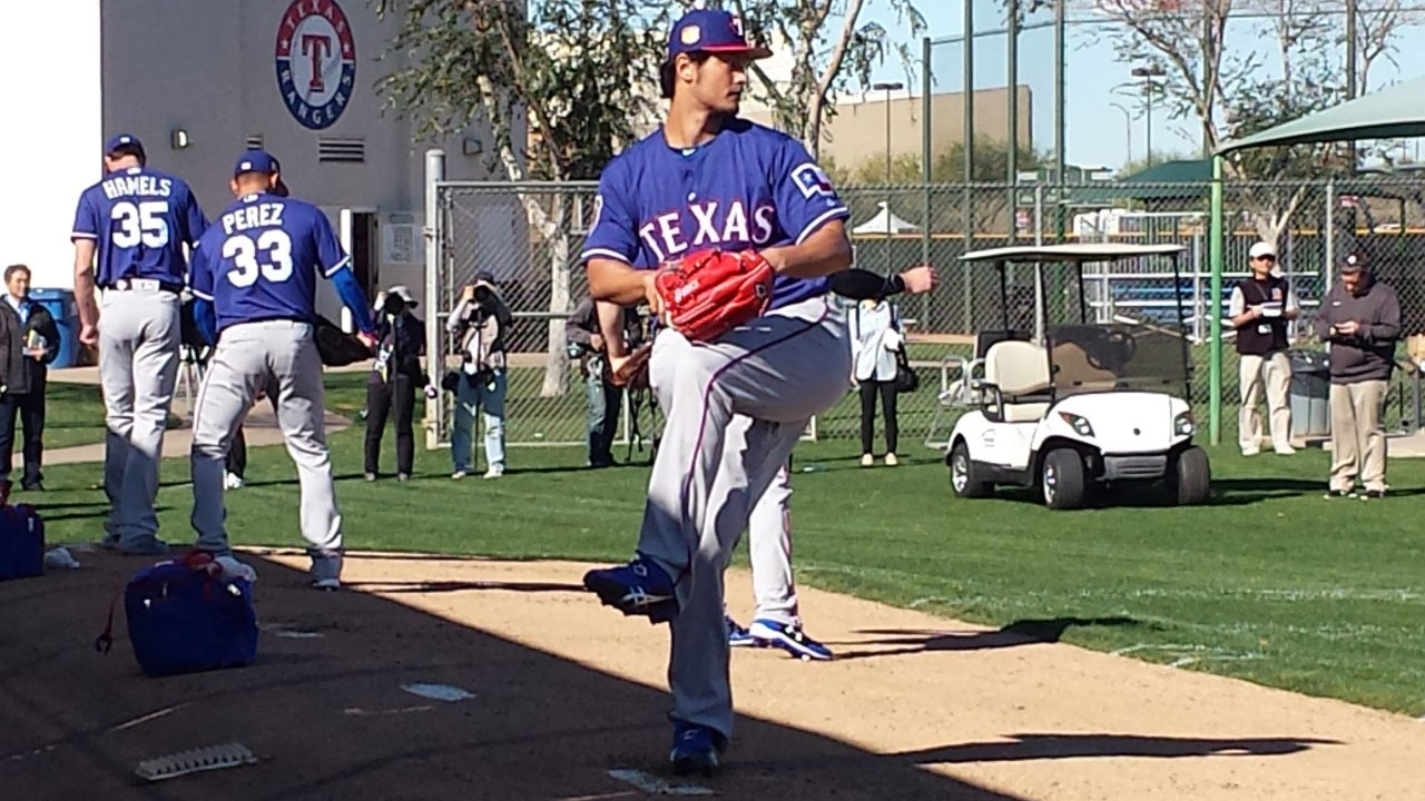 Darvish ready to 'pitch at a higher level'