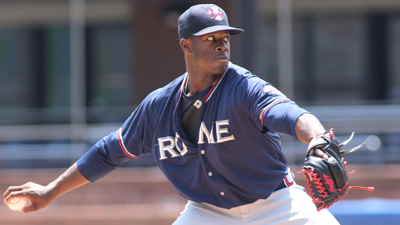 Touki aims to get ahead of the curve with Braves