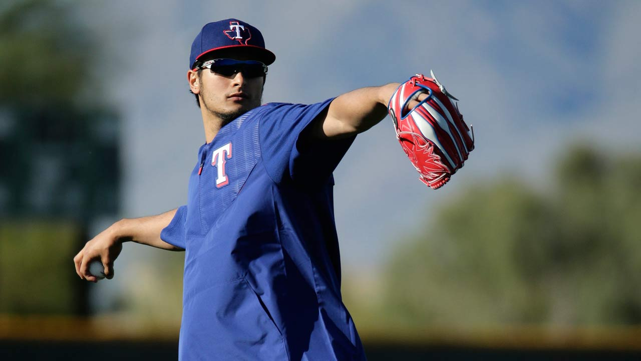 Darvish thrilled with progress, sticking to plan