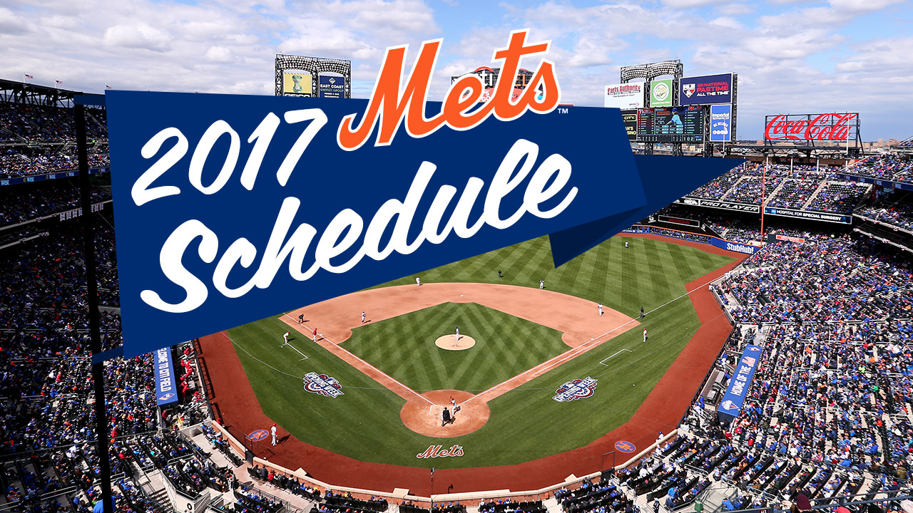 Mets to open 2017 with string of NL East games