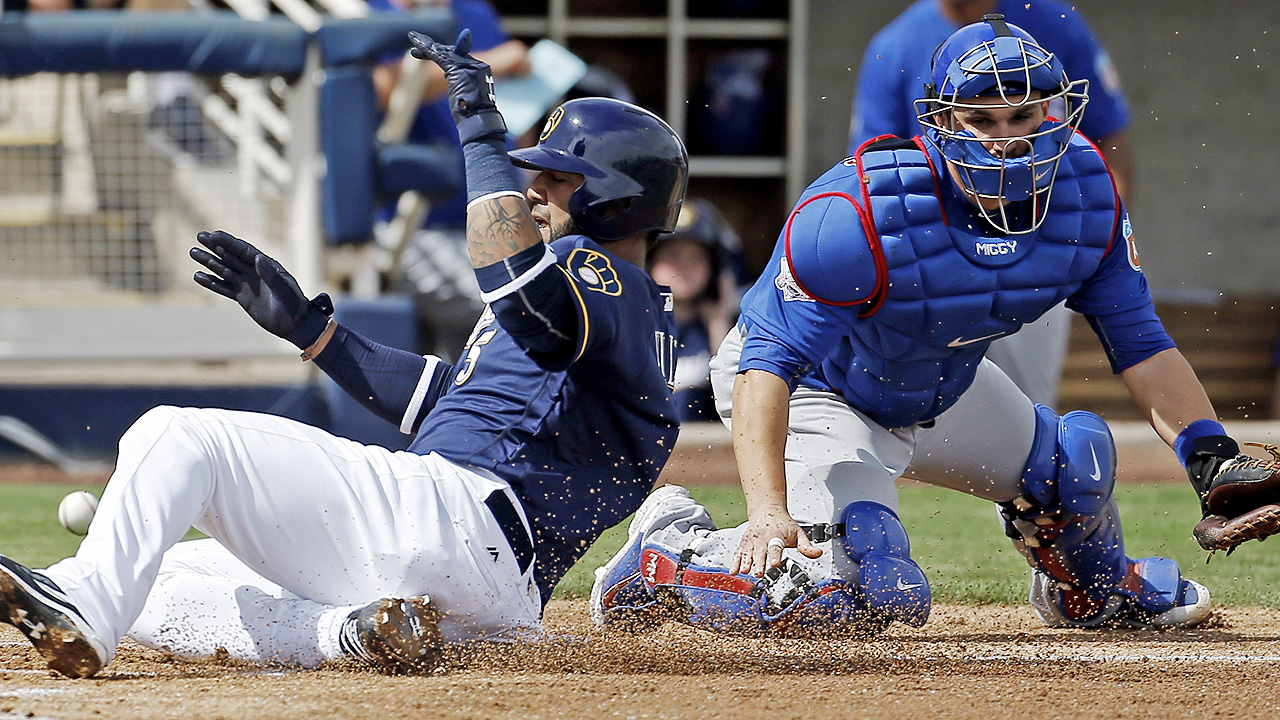 Anderson sharp as Brewers edge Cubs