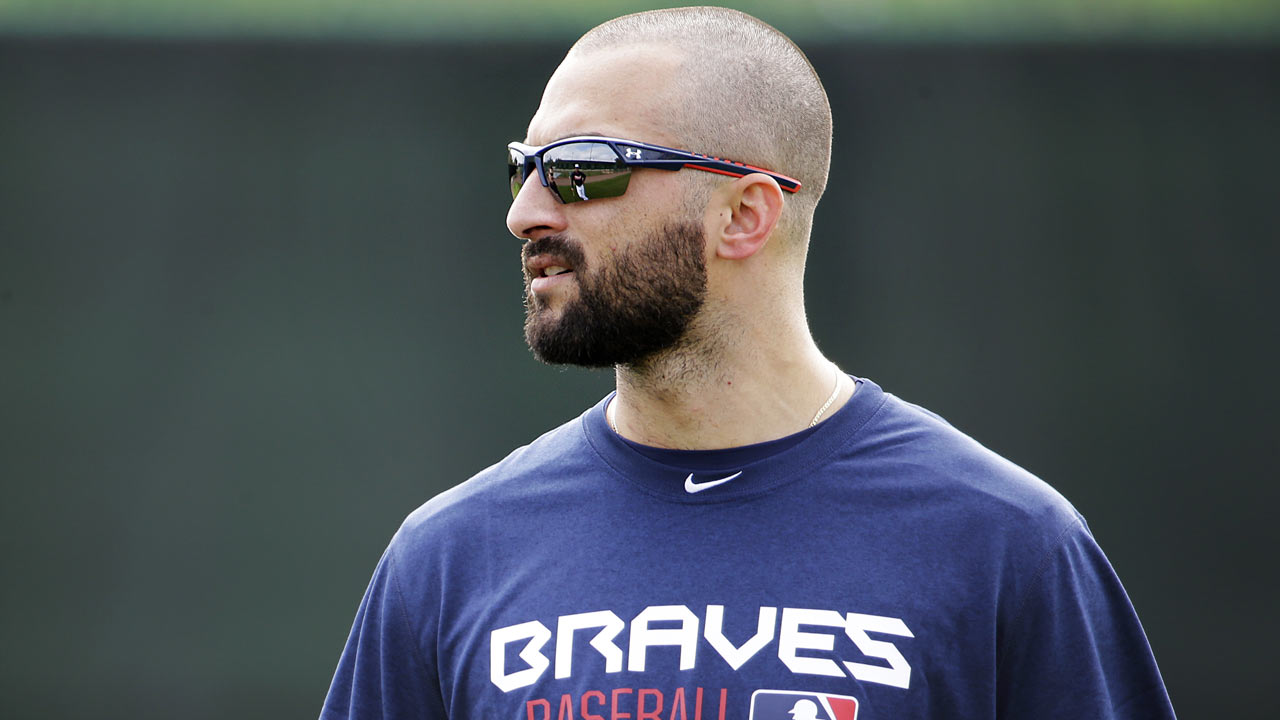 Markakis two weeks away from playing