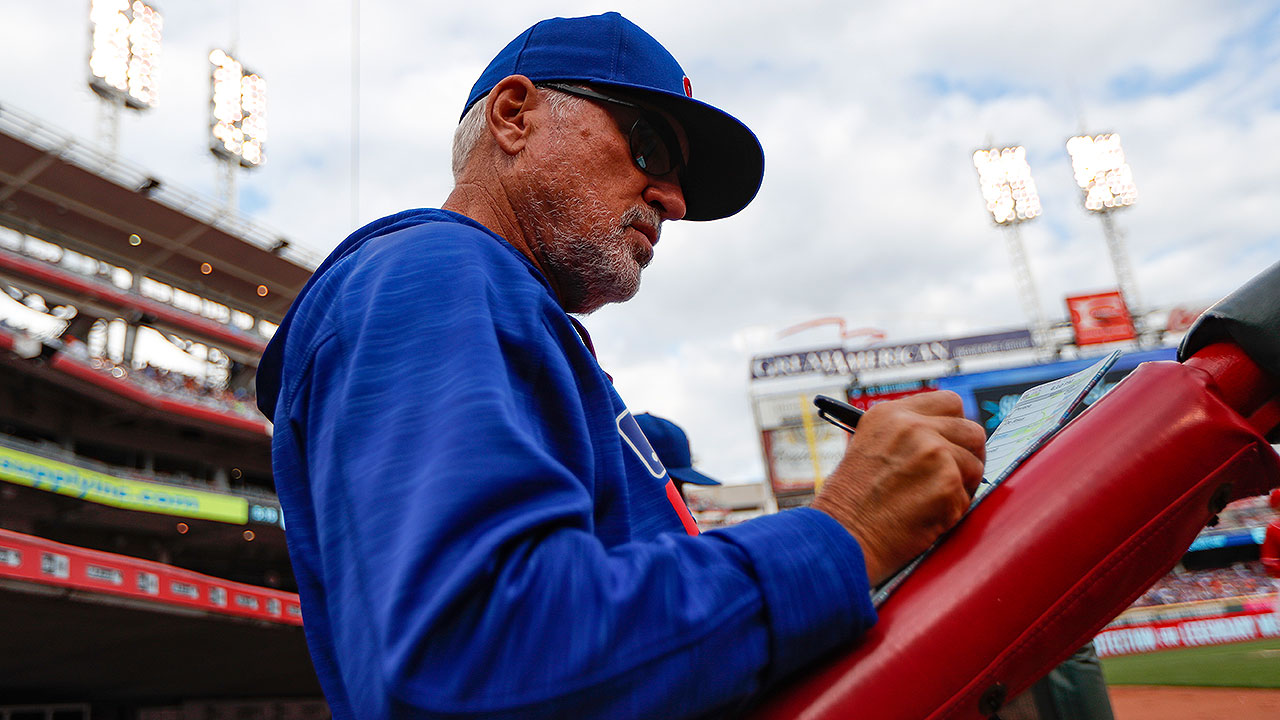 Maddon wants Cubs to keep same approach for playoffs