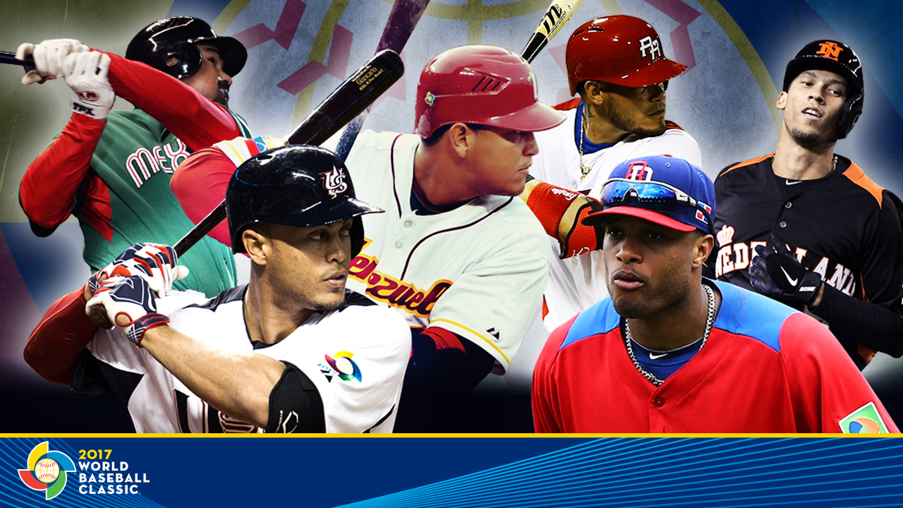 2017 World Baseball Classic rosters unveiled   MLB.com