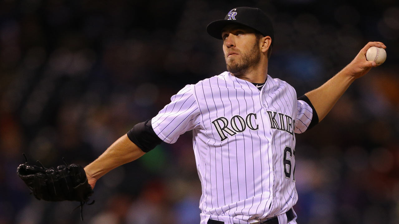 Rockies place reliever Roberts on the 15-day DL