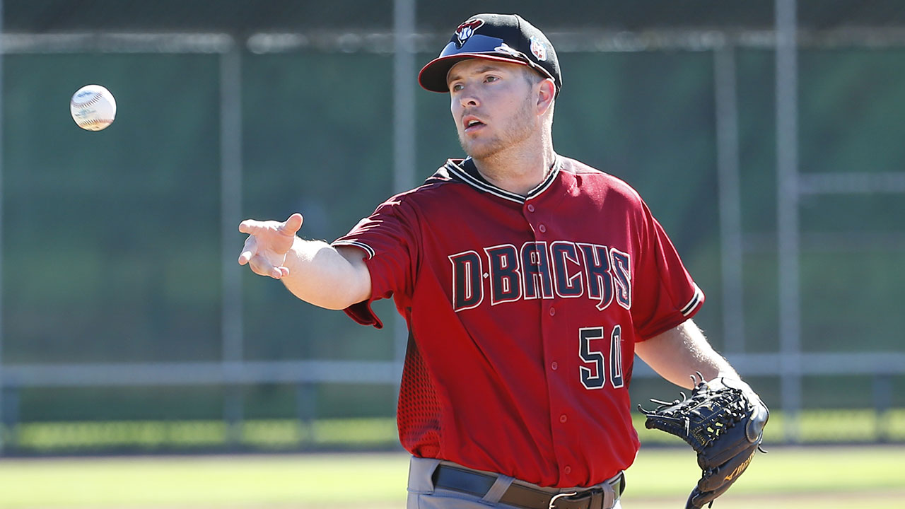 D-backs' Marshall relishes return to normalcy