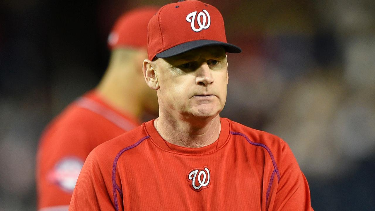 Nationals Fire Manager After Two Seasons in Charge