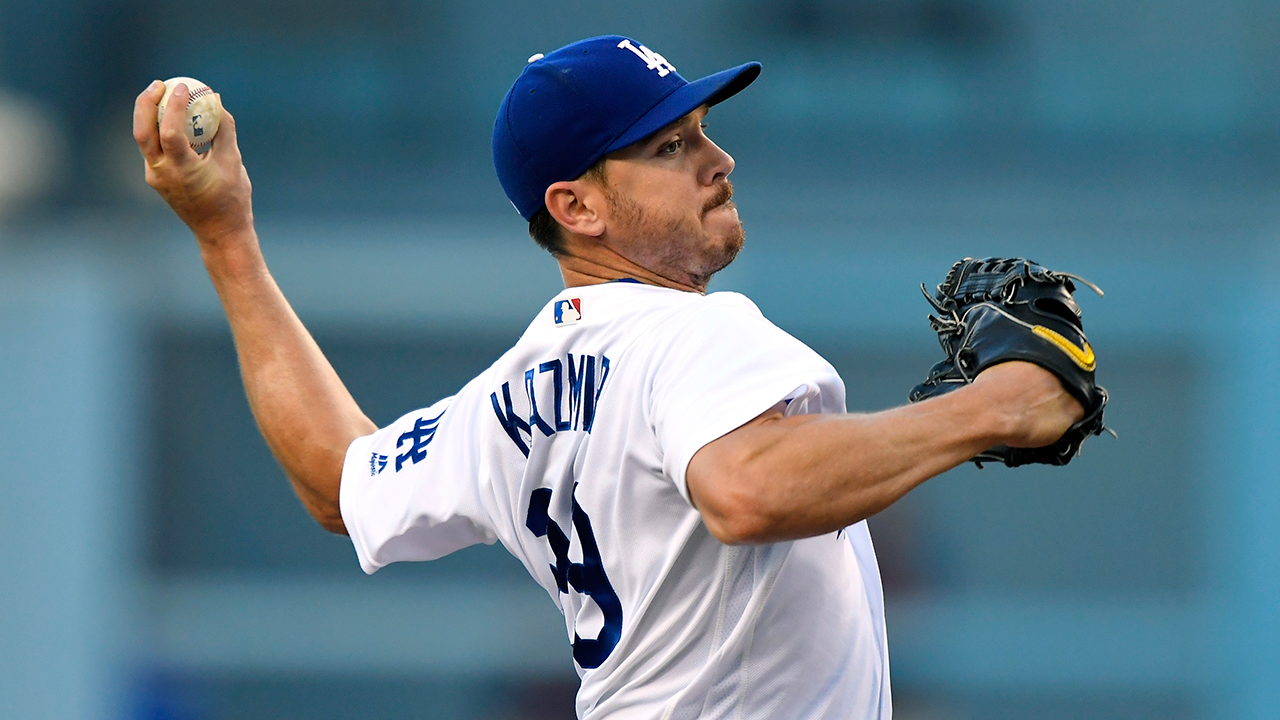 Dodgers activate Kazmir from DL, recall Taylor