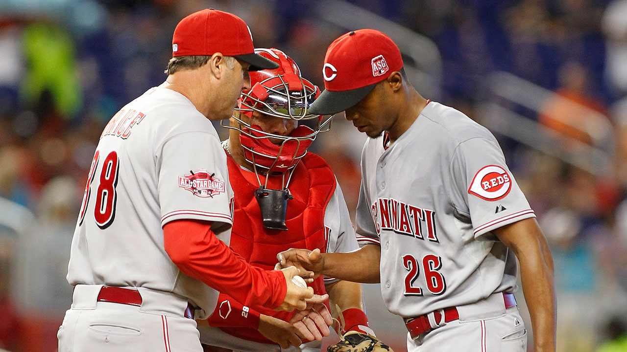 Reds faced with balancing act on starters' limits