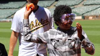 A's showcase science of baseball at STEM clinic